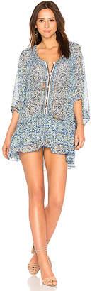Poupette St Barth Fleur Poncho Dress