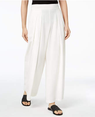 Eileen Fisher Tencel Pleated Wide-Leg Pants, Regular & Petite