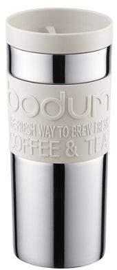 Bodum Stainless Steel Travel Mug, 0.35L, Off White 1