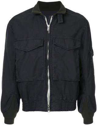Sacai multi-pocket bomber jacket