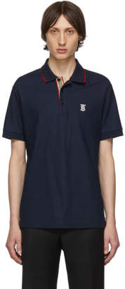 Burberry Navy Icon Stripe Walton Polo