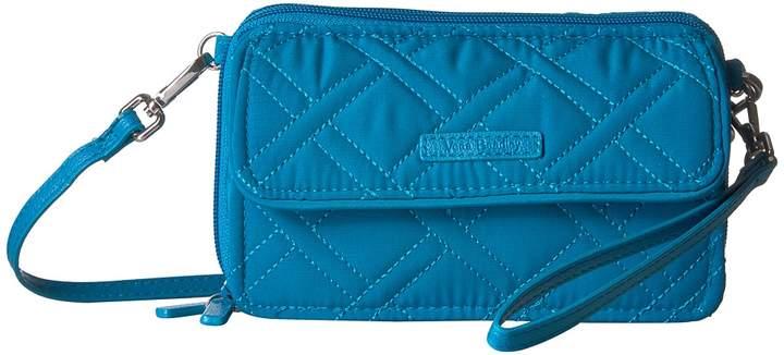 Vera Bradley RFID All-In-One Crossbody Cross Body Handbags - BAHAMA BAY - STYLE