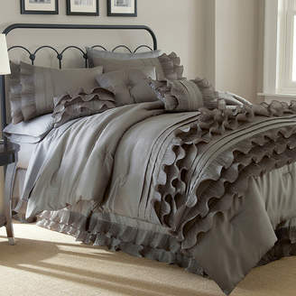PACIFIC COAST TEXTILES Anastacia Ruffled 8-pc. Comforter Set