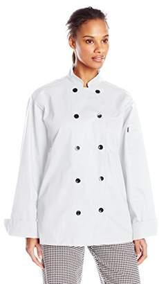 Uncommon Threads Unisex Moroccan Chef Coat 10 Button