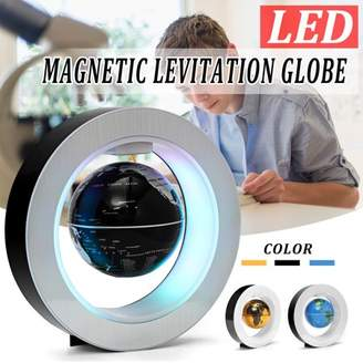 Generic Levitation Floating Globe 4inch Rotating Magnetic Mysteriously Suspended in Air World Map Home Decoration Crafts Fashion 3 Clolors