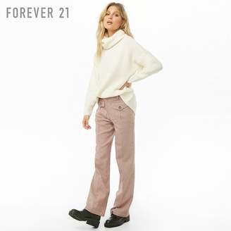 Forever 21 (フォーエバー 21) - Forever 21 タートルネックブラッシュドセーター