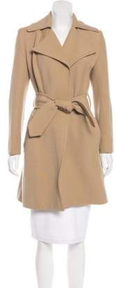 Behnaz Sarafpour Wool Structured Coat