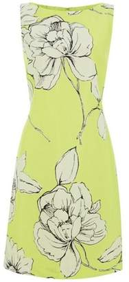Dorothy Perkins Womens *Roman Originals Lime Green Floral Dress