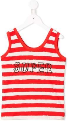 Noë & Zoe Super print striped vest