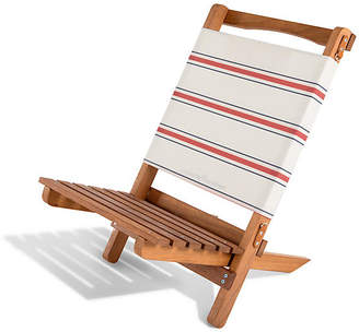 Co Business & Pleasure Llc French Stripe 2-pc Folding Chair - Red/White
