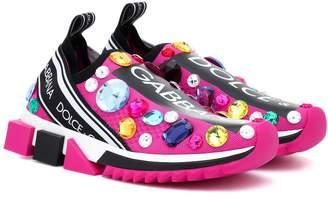 Dolce & Gabbana Sorrento embellished sneakers