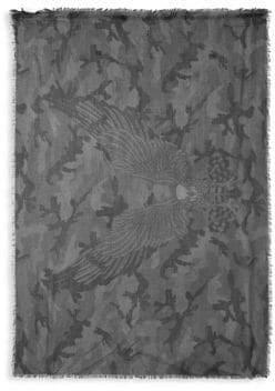 Valentino Printed Rectangular Scarf