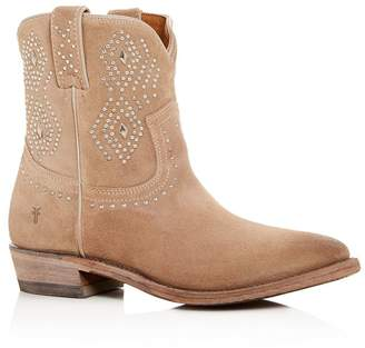 c07fa346845 Frye Short Boots With Studs - ShopStyle