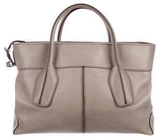 Tod's Leather Zip Satchel