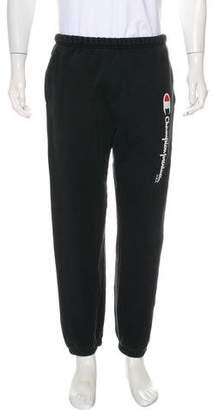 Supreme x Champion Knit Drawstring Joggers