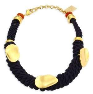 Lizzie Fortunato Zanzibar Cord Necklace