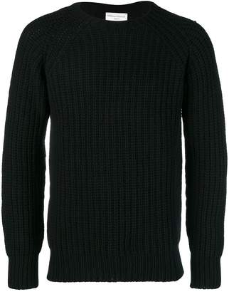 Officine Generale ribbed-knit wool sweater