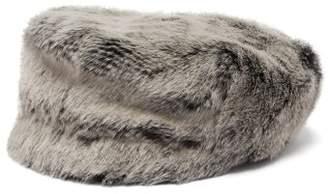 Lola Hats - Capote Faux Fur Cap - Womens - Grey
