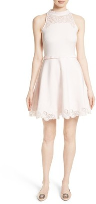 Women's Ted Baker London Zaffron Fit & Flare Dress $295 thestylecure.com