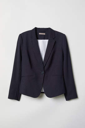 H&M H&M+ Fitted Jacket - Blue