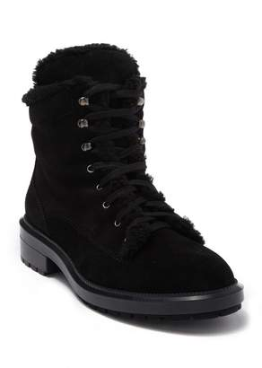 Aquatalia Lynne Faux Fur Trimmed Waterproof Boot