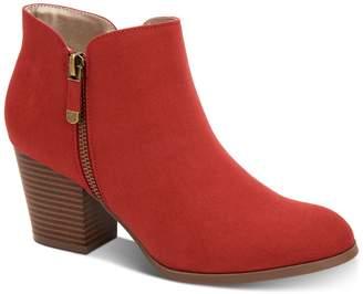 Style&Co. Style & Co. Masrinaa Block Heel Booties