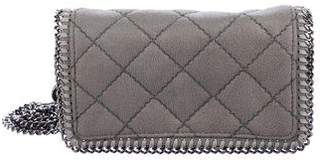 Stella McCartney Quilted Shaggy Deer Falabella Crossbody Bag