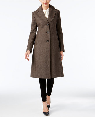 Jones New York Wool-Blend Walker Coat $360 thestylecure.com