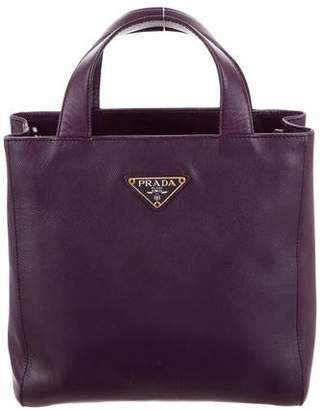 b6177f51ac Prada Purple Saffiano Leather Bags For Women - ShopStyle Canada