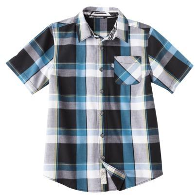 Shaun White Boys' Short-Sleeve Shirt - Ebony