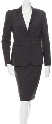 Burberry Pinstripe Skirt Suit $175 thestylecure.com