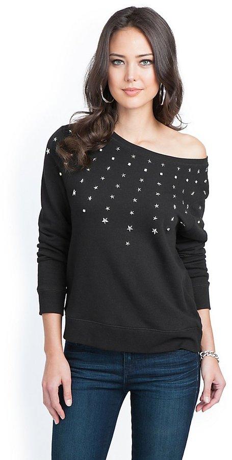 GUESS Embellished Sweatshirt