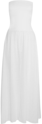 Eres Zephyr Ankara Cotton-jersey Maxi Dress - White