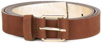 Sofie D'hoore suede buckle belt