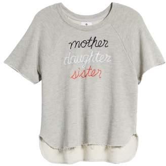Sundry Mother Daughter Sister Sweatshirt
