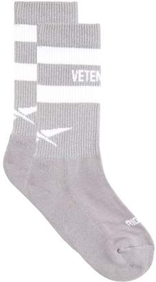 Vetements X Reebok Reflective Socks