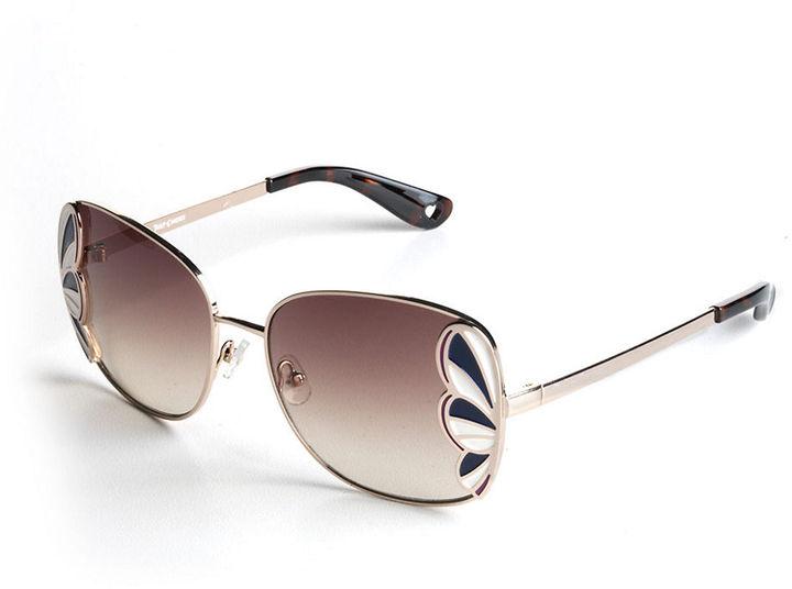 Juicy Couture Retro Enamel Embellished Sunglasses