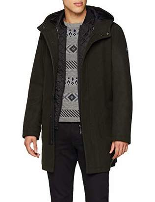 Armani Exchange A|X Men's Quilted Down Jacket