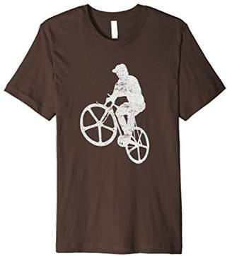 Bicycle Wheelie Custom Designed T-Shirt
