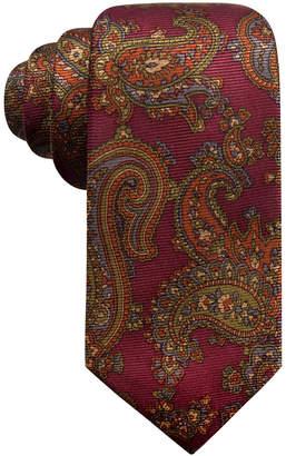 Tasso Elba Men's Paisley Silk Tie