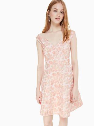 e027579ce90c Kate Spade Metallic Jacquard Dress, Rose Dew - Size 0