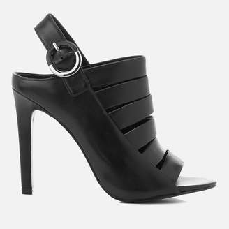 KENDALL + KYLIE Women's Mia Strappy Leather Heeled Sandals