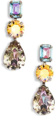 Sorrelli Polished Pear Crystal Drop Earrings