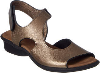Arche Sakari Leather Wedge Sandal