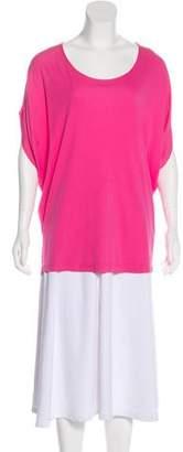 Michael Kors Short Sleeve Woven Top