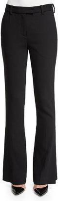 3.1 Phillip Lim Slimming Side-Slit Pants, Black $575 thestylecure.com