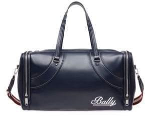 Bally Fred Leather Duffel Bag