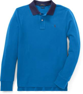 Ralph Lauren Slim Fit Cotton Mesh Polo