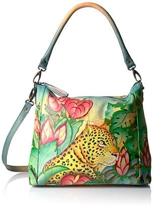 Anuschka Anna by Convertible Shoulder Bag Jungle Leopard