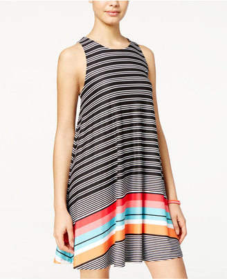 Planet Gold Juniors' Printed Swing Dress $29 thestylecure.com